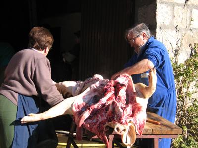 a cada cerdo le llega su San Martin