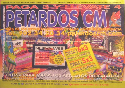 1600 firecrackers for only 60€
