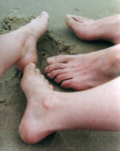 Did you wash between your toes?