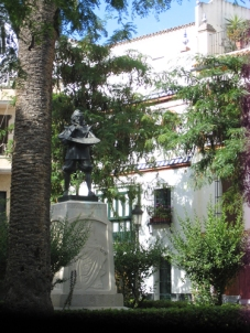 Opposite Casa Pilatos, Seville
