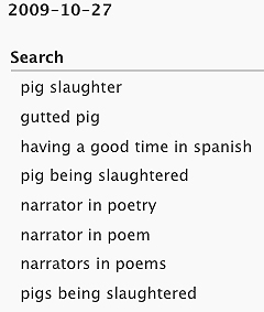 list of search phrases
