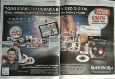 advert for el mundo image processing course