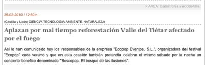 Aplazan por mal tiempo reforestación...