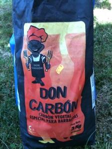 Don Carbon barbecue coals