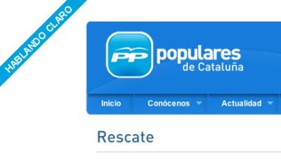 PP 'hablando claro' web site grab