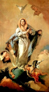 Tiepolo: inmaculada concepción