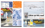 Metro UK digital edition, March 14th, 2011, pages 2 & 3