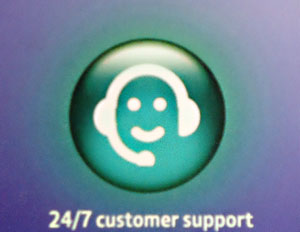 24/7 customer support icon