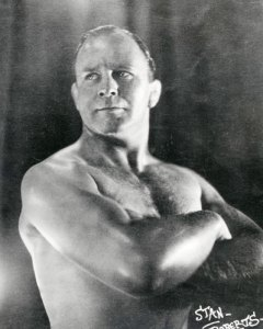 Albert Stanley (Stan) Roberts; all-in wrestler