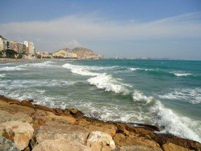 Sea at Alicante