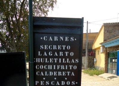 Carnes: secreto, lagarto, chuletillas, cochifrito...