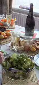 Christmas lunch (detail)