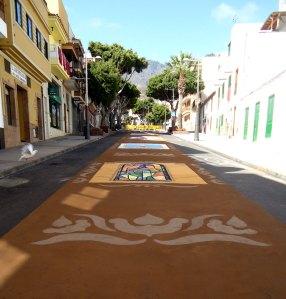 Adeje street 'carpets', Corpus Christi 2012, Tenerife