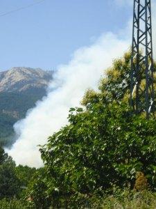 wildfire smoke, Gredos