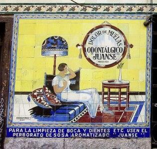 Especialidades Juanse tile advert, Madrid