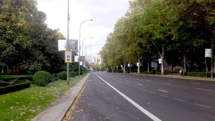 Paseo del Prado, Madrid