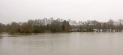 floods at Gloucester, UK, December 2012