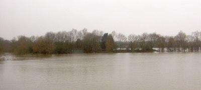 floods at Gloucester, UK, December 2012