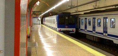 madrid metro video still