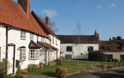 Terraced cottages, Kenilworth, UK