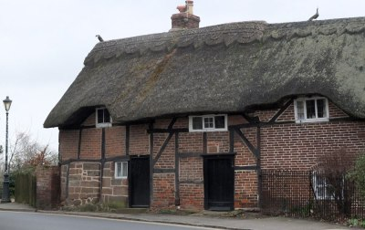 Thatched cottage, Kenilworth, UK