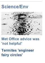 BBC Headline: Met Office advice was 'not helpful'