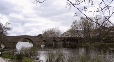 multi-arched stone bridge