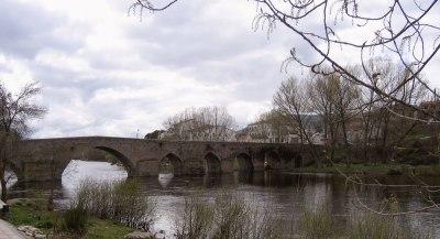 multi-arched stone bridge