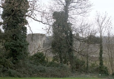 Chepstow Castle, south Wales
