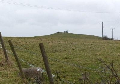 Heston Brake, standing stones, South Wales