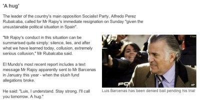 BBC website screenshot