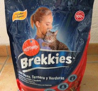 Cat food bag - Brekkies