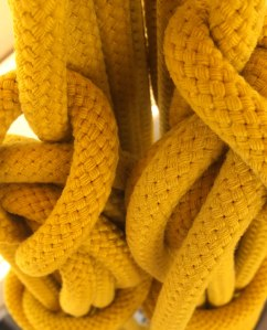 knotted yellow rope