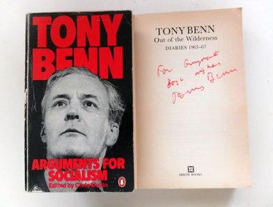 Tony Benn books