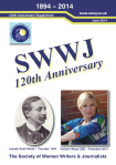 SWWJ 120th anniversary supplement cover