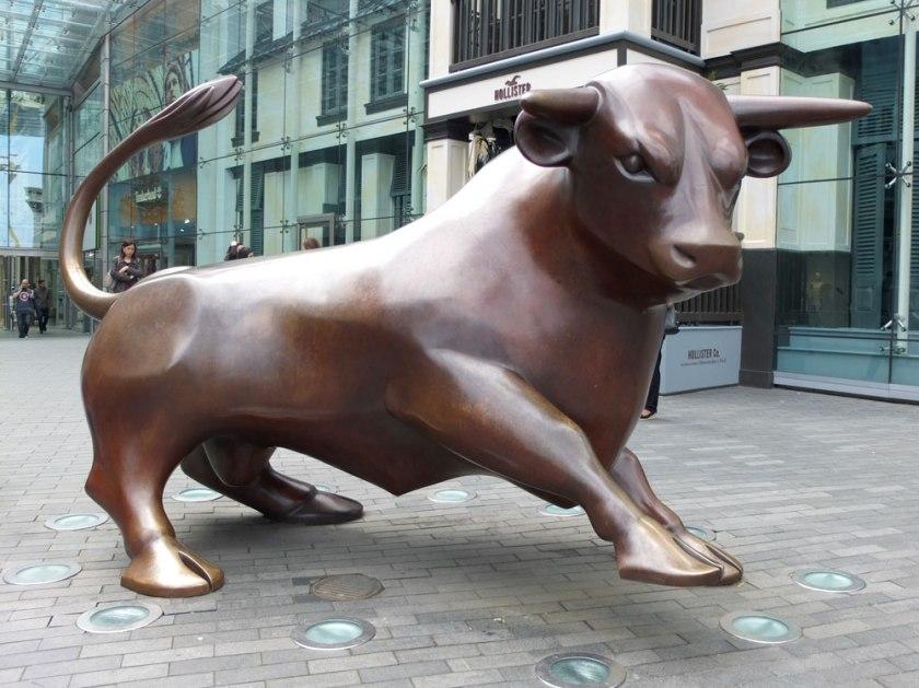 Bull statue, Birmingham Bullring