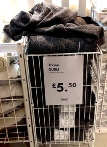IKEA product: GURLI throw
