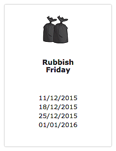 Rubbish Friday