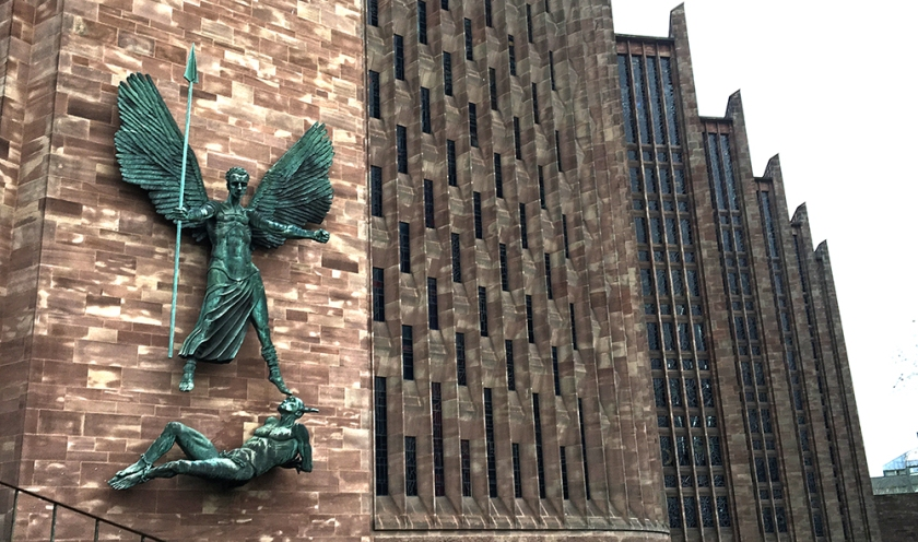 Coventry Cathedral St Michael and the Devil