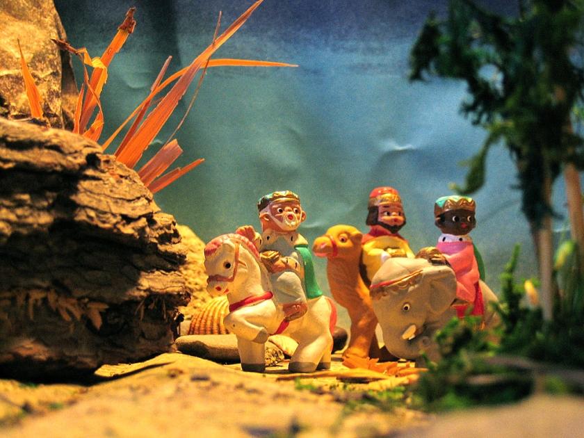 Three Kings - nativity figures