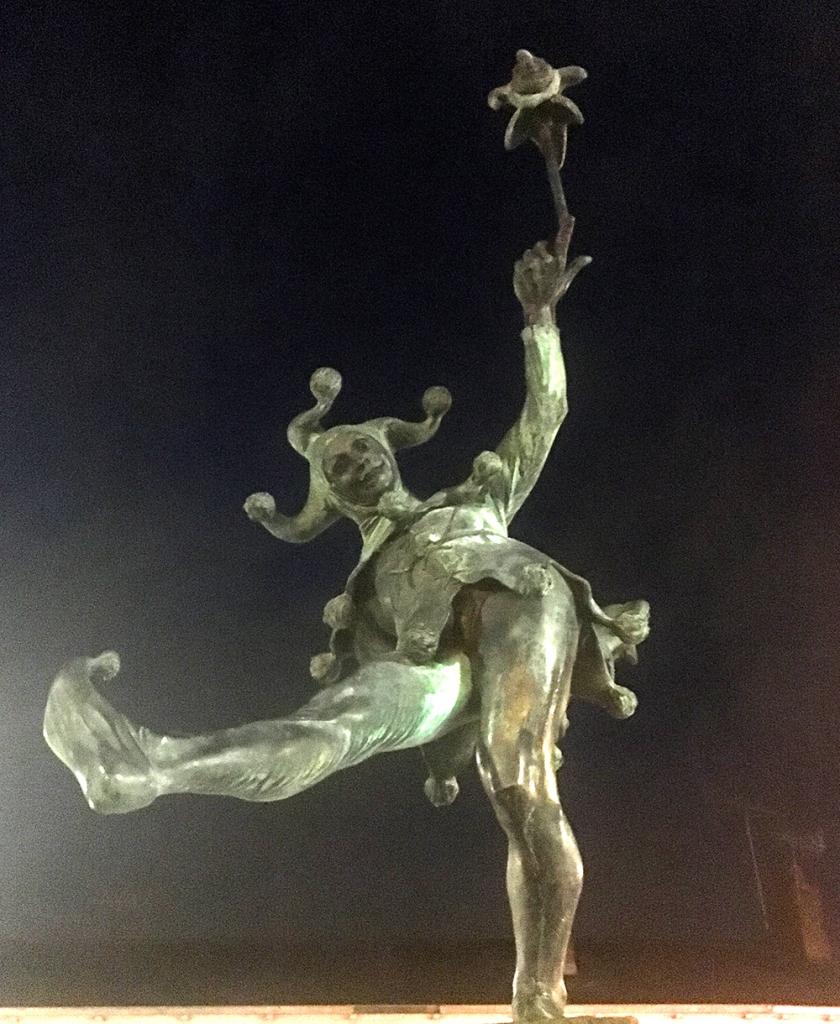 Stratford upon Avon Jester statue