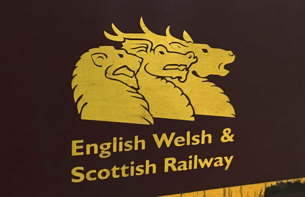English, Welsh & Scottish Railway logo