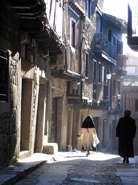traditional Spanish village
