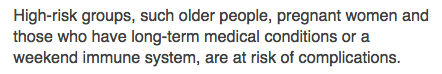 "Screenshot from BBC ""weekend immunity system"""