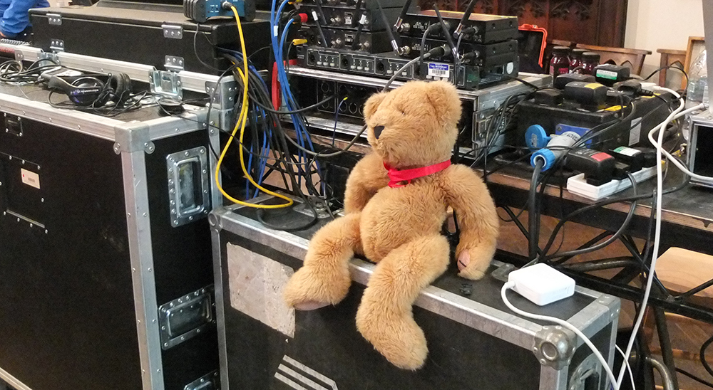 TEDx teddy bear