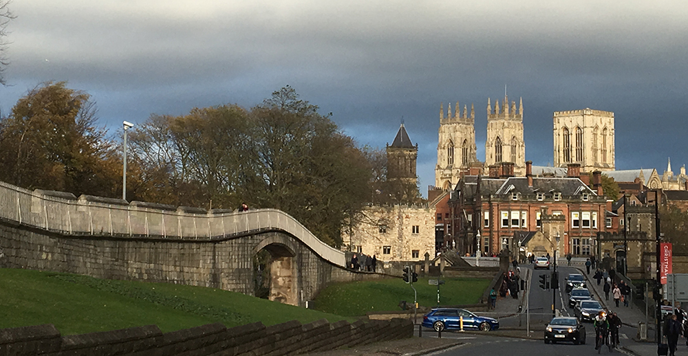 York skyline including Minster