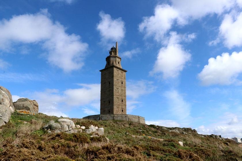 torre de hercules, lighthouse, a coruña, Galicia