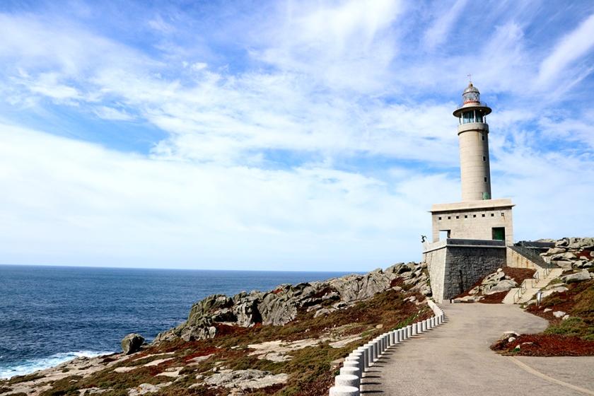 Punta Nariga lighthouse, Malpica, Galicia