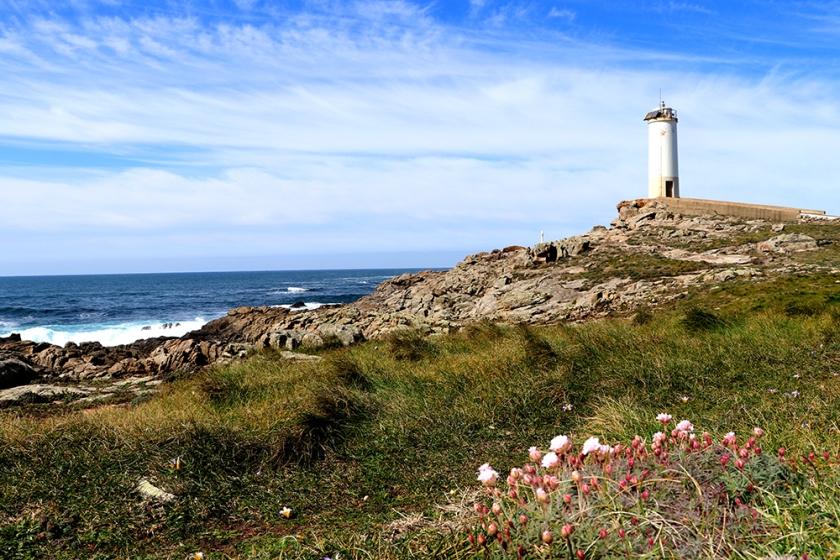 Cabo Roncudo lighthouse, Galicia
