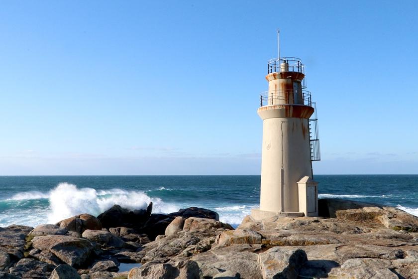 Punta da Barca lighthouse, Muxía, Galicia
